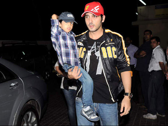 Zayed Khan at Agneepath special screening