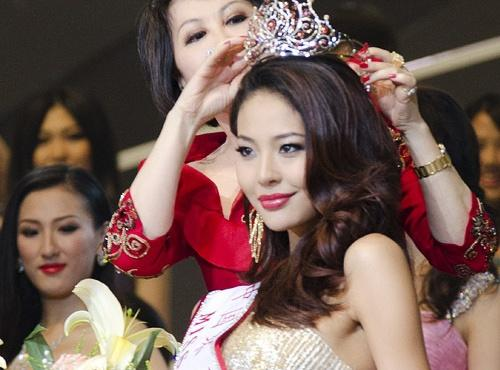 4th runner up - Zilin Luo - Miss China