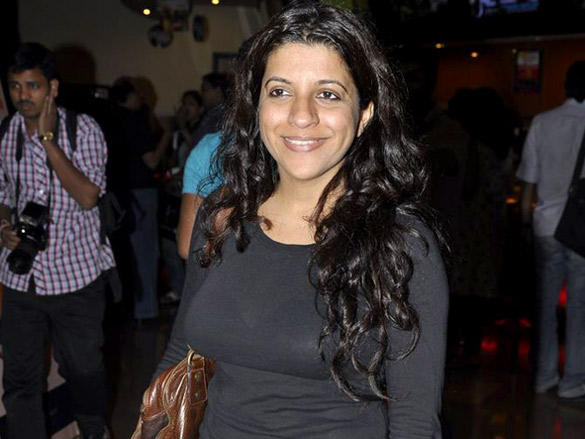 Zoya Akhtar at a special screening of The Artist