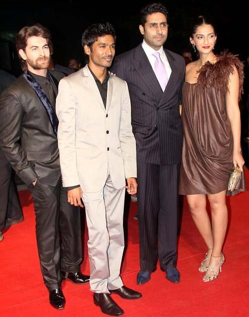 Abhishek, Neil & Sonam At Bash