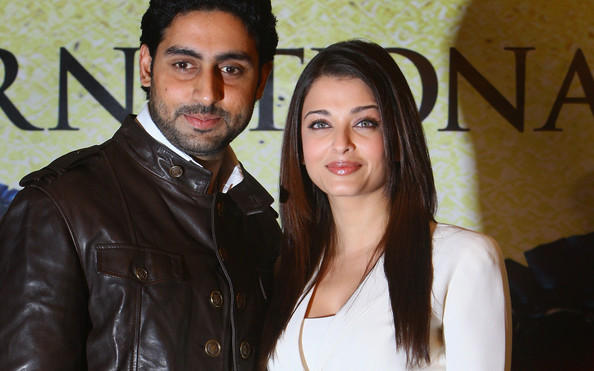 Abhishek Bachan and Aishwarya Rai Bachhan together at @
