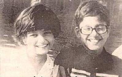 Aishwarya Rai Childhood Photo With Brother