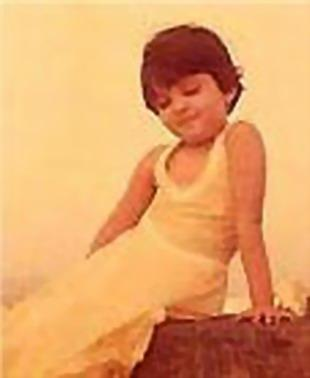Aishwarya Rai Childhood Photo