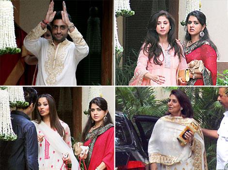 Aishwarya's baby shower pics