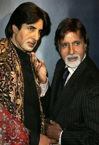 Amitabh Bachchan statue at Madame Tussauds