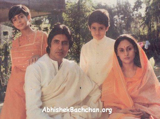 Amitabh Bachhan Family