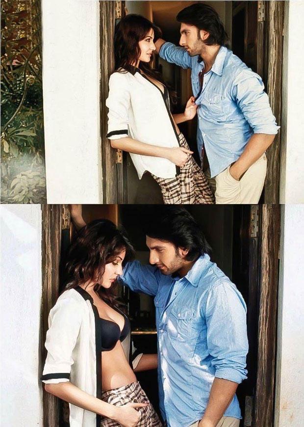 Filmfare photoshoot Anushka Sharma and Ranveer Singh