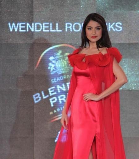 Anushka Sharma At Blender's Pride Fashion Tour 2011