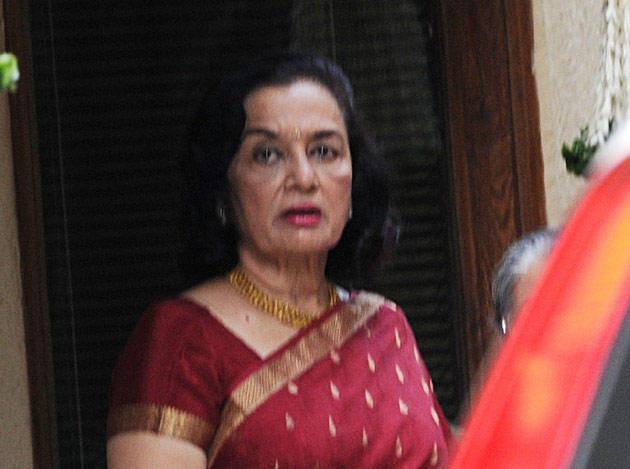 Asha Parekh At Aishwarya Rai Baby Shower