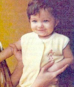 Baby Aishwarya Rai Childhood Photo