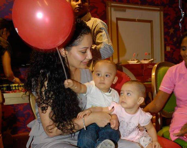 Manyata With Babies