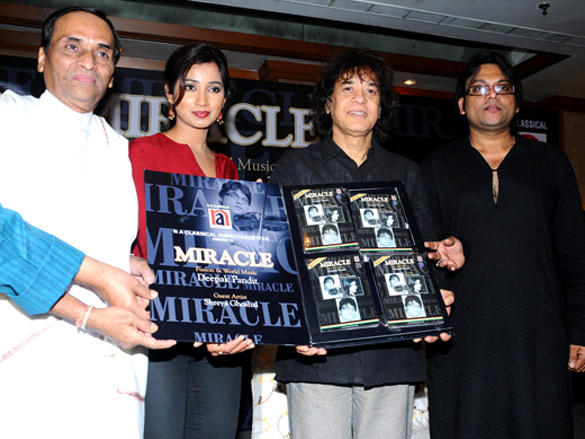 celebs Launches  Deepak Pandit's album 'Miracle'
