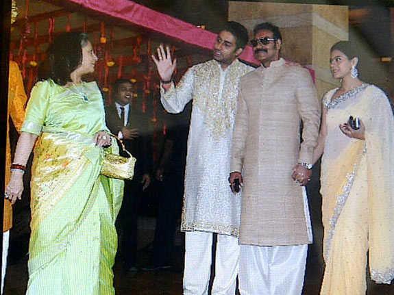 celebs at Genelia and Ritesh Wedding