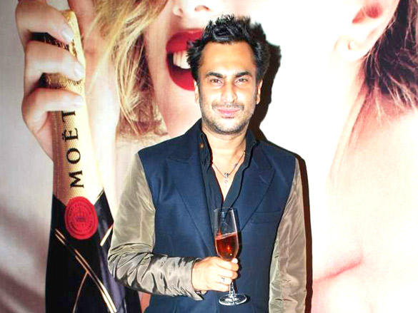 celebs at Moet and Chandon valentine evening