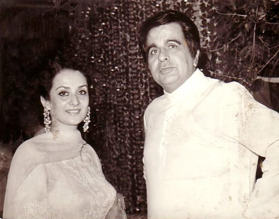 Most Beautiful Celeb Dilip Kumar and Saira Banu