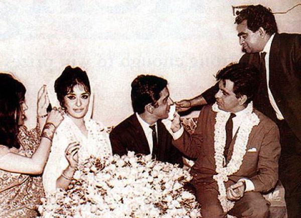 Dilip Kumar and Saira Banu Wedding