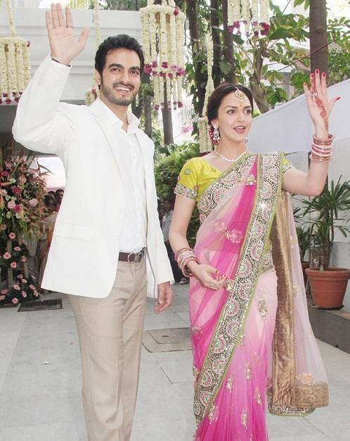 Esha Shows Her Ring