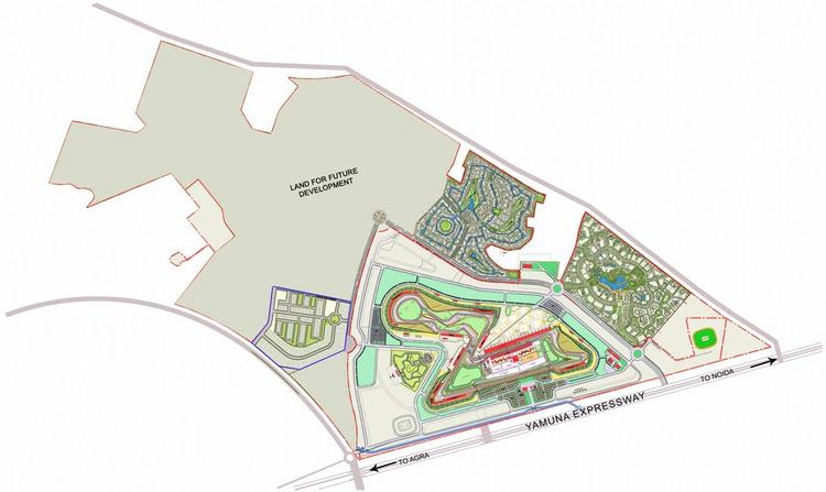 F1 Track Design Greater Noida
