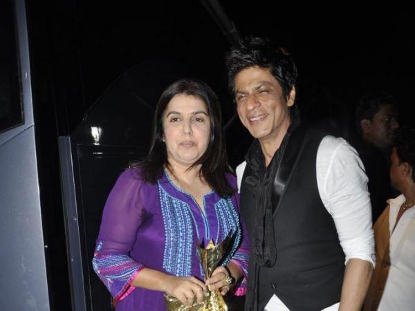 SRK Farah After Patch Up