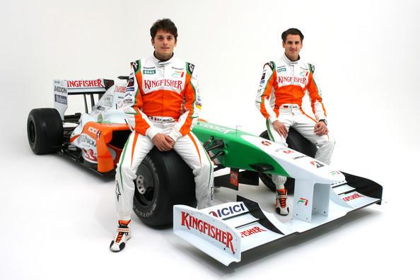 Force India F1 Race Kingfisher