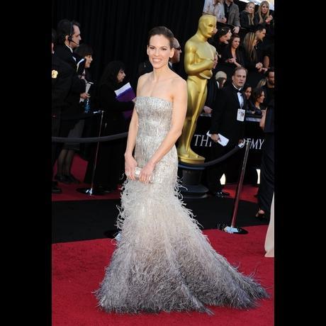 Hillary Swank at Academy Awards 2011