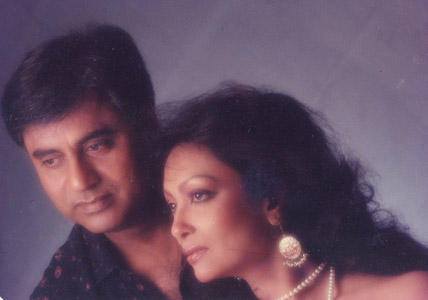 Jagjit Singh and Chitra Singh Together