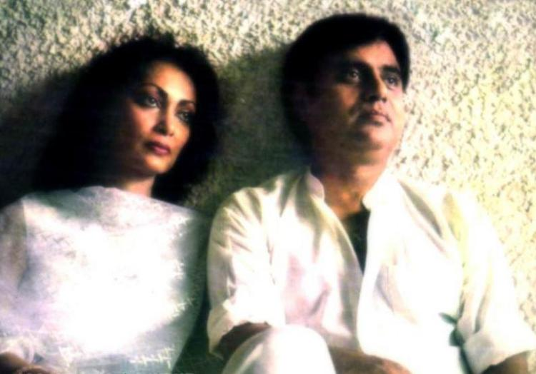 Jagjit Singh and Wife Chitra Singh