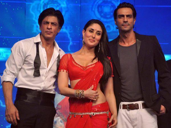 Kareena, Shahrukh and Arjun at music launch