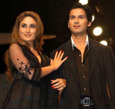 KAreena With Her Ex Shahid
