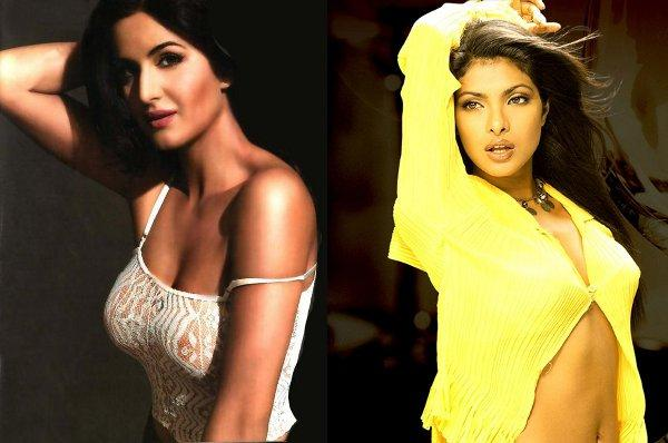 Katrina and Priyanka Chopra