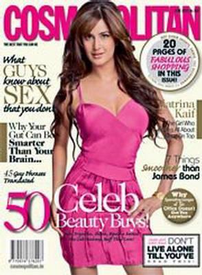 Katrina Kaif Cosmopolitan India