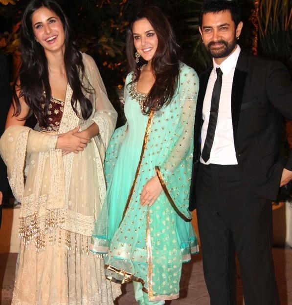 Katrina and Preity