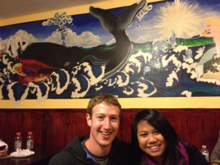Mark Zuckerberg and girlfriend Priscilla Chan Private Moments