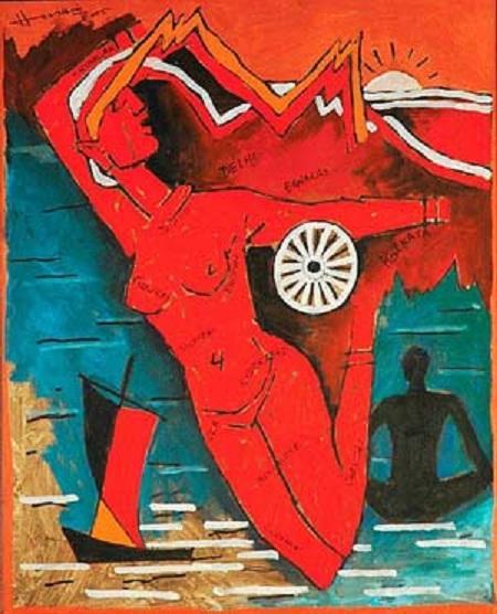 Arvind Iyer: MF Hussains masterpieces!!!