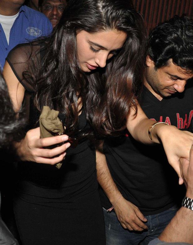 Nargis Fakhri at Ranbir Kapoor's Birthday Party