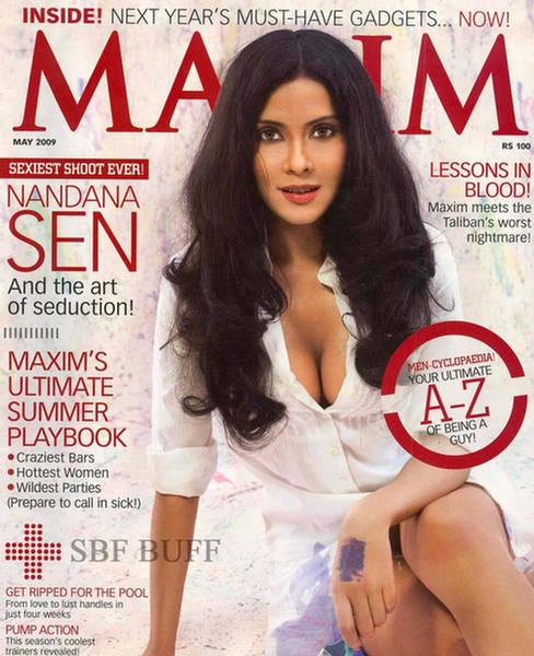 Nandana on Maxim