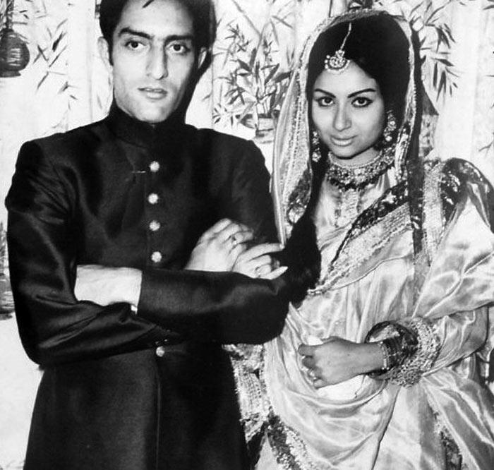 Pataudi & Sharmia Tagore Marriage Photo