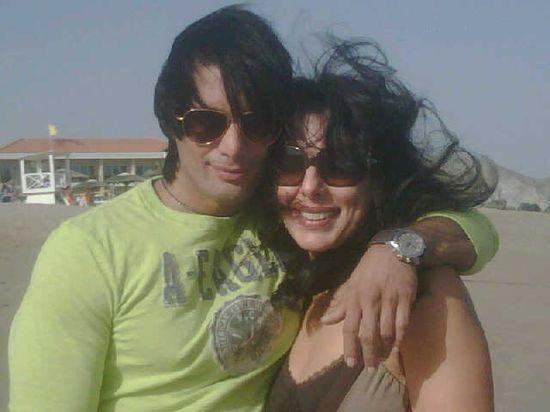 Pooja-Sky at beach