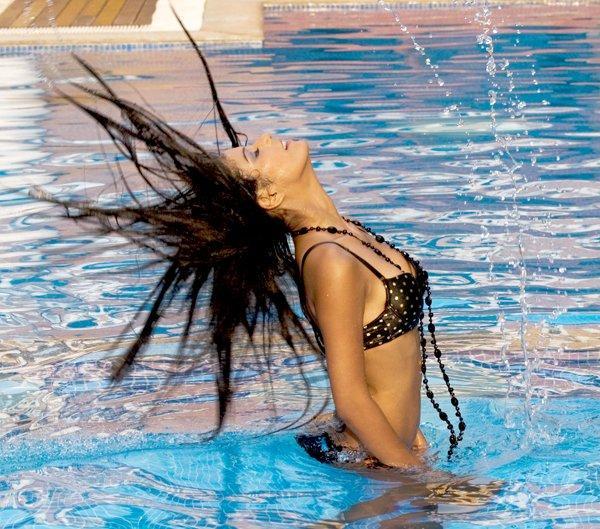Poonam Pandey in Water