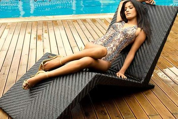Poonam Pandey By Poolside