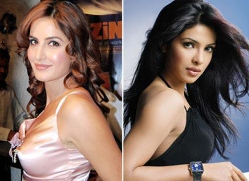 Katrina and Priyanka