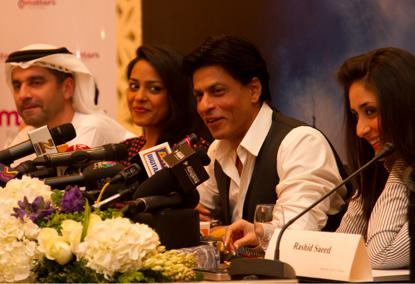Ra One Team Addressing Press at Grand Hayatt
