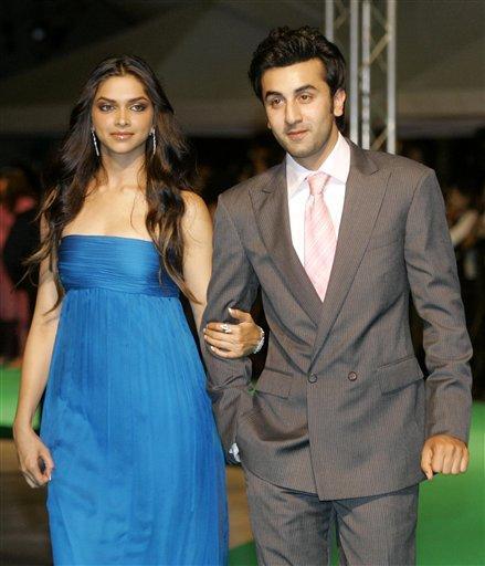 Ranbir With Deepika