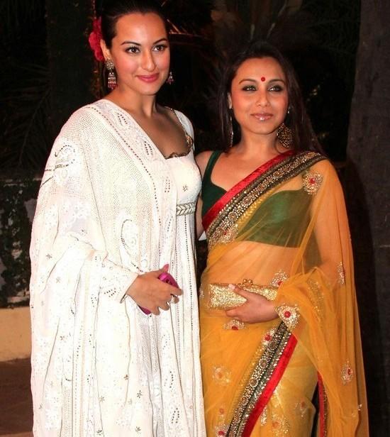 Rani and Sonakshi