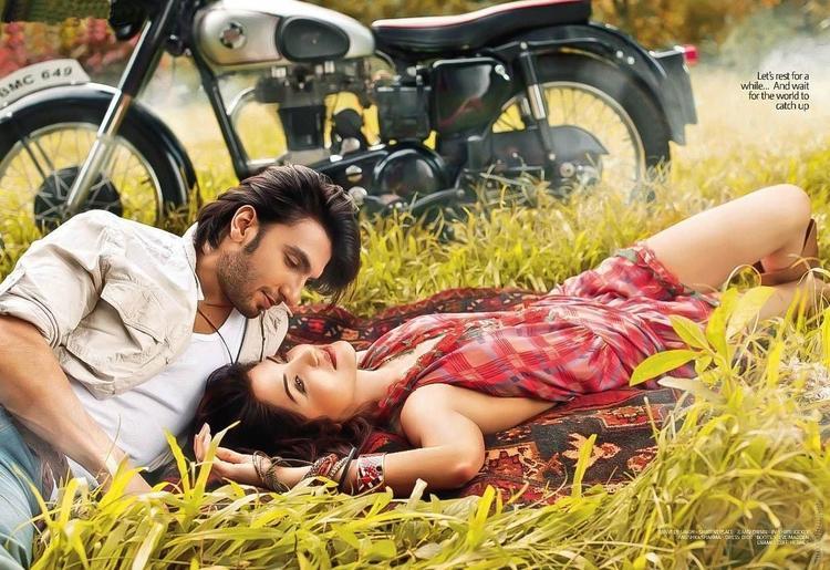 Anushka Sharma with Ranveer Singh Photoshoot