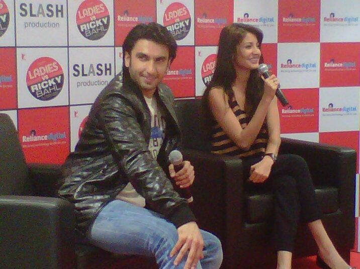 Ranveer Singh and Anushka Sharma talks The Ladies vs Ricky Bahl