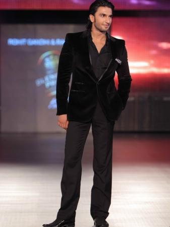 Ranveer Singh At Blender's Pride Fashion Tour 2011
