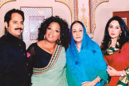 Oprah Meets Jaipur Royals