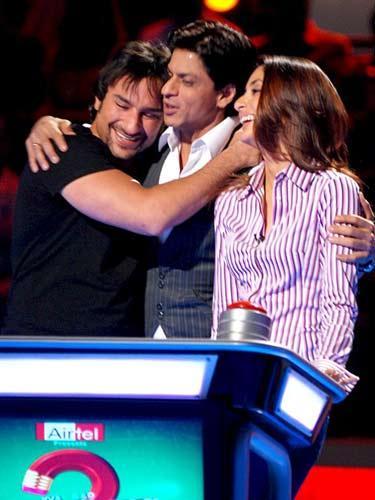 Saifeena With SRK