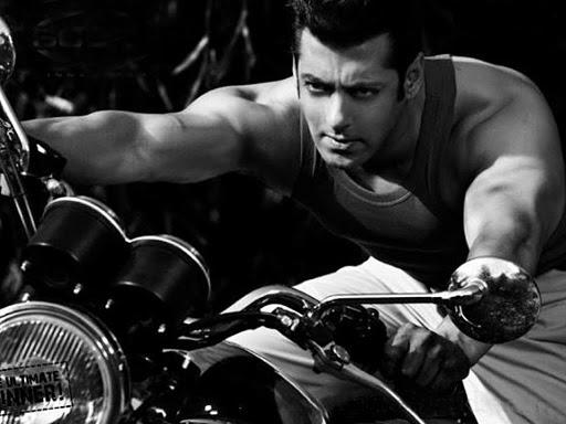 Salman on Bike